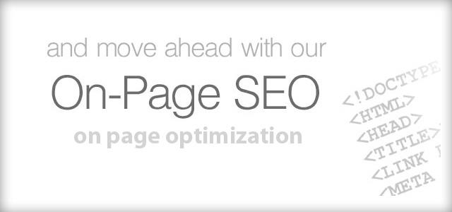 Onpage SEO keyword optimisation
