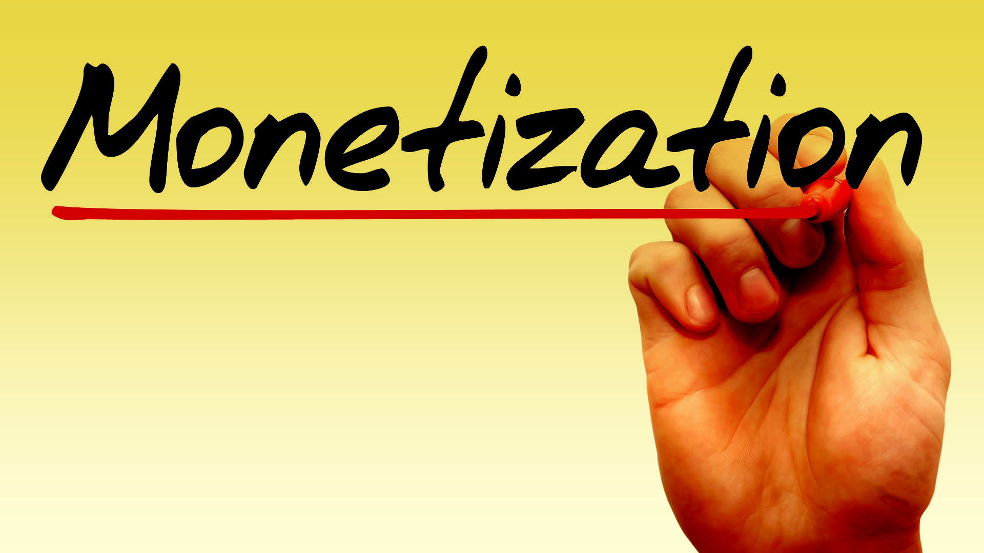 Monetization of your content via Adsense