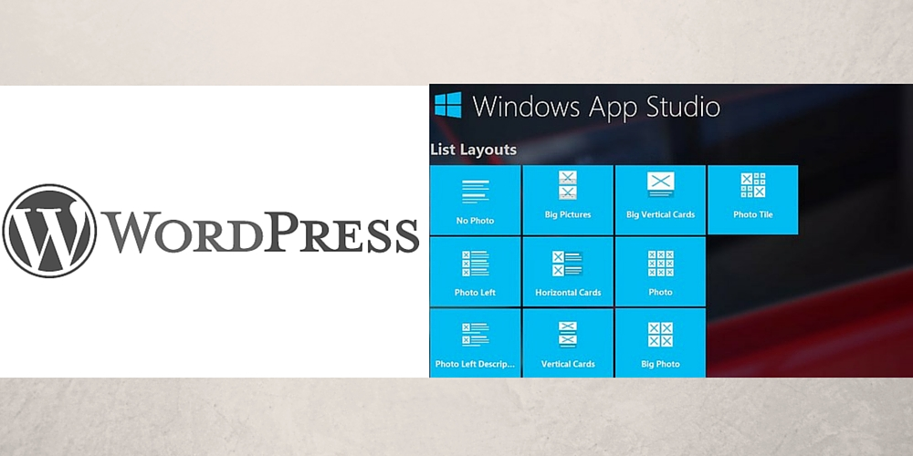 Turn your wordpress blog into Windows 10 app without coding