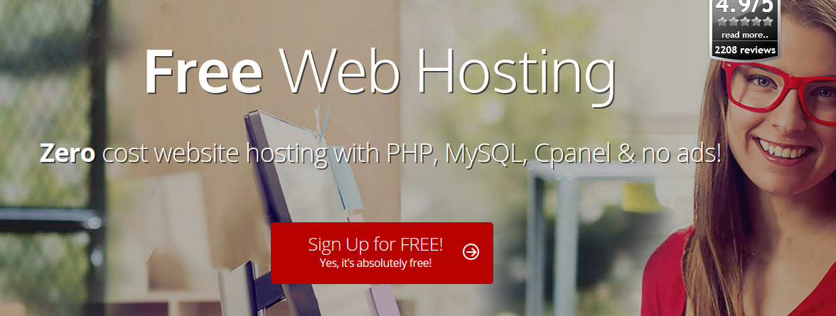 Top Free Hosting provider for your Blog / Website