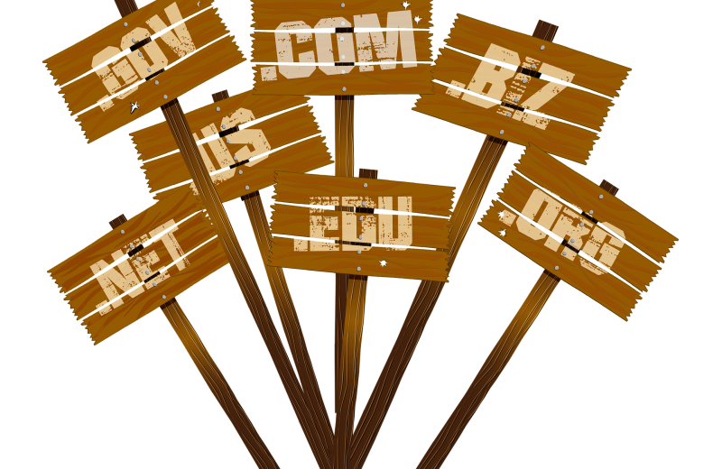 choose .com domain name